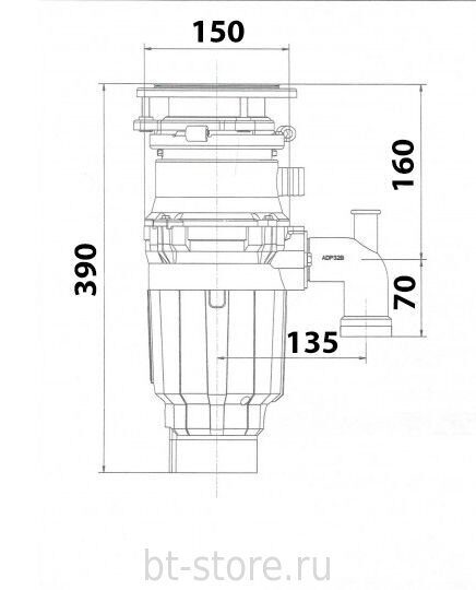 Bone Crusher BC 910 Slim Line 1